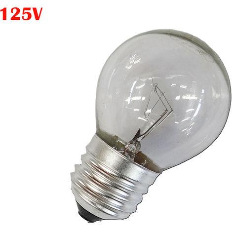 BOMBILLA ESFERICA CLARA 60W E27 125V (SOLO USO INDUSTRIAL)