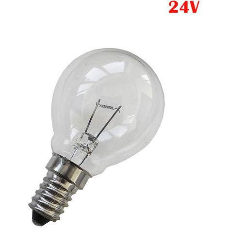 BOMBILLA ESFERICA E14 40W CLARA 24V