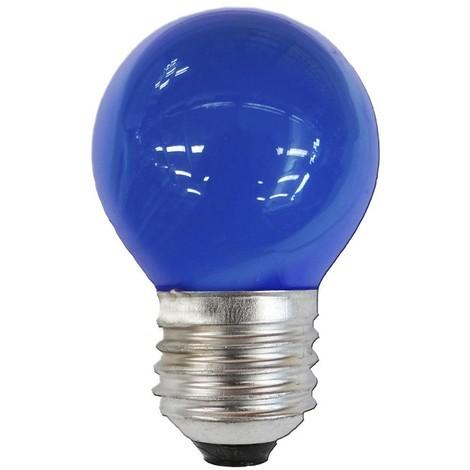 Bombilla Esferica E27 25W 220/240V Azul - NEOFERR