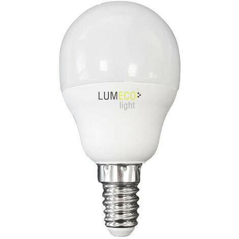 Bombilla Esferica Led 5W 400 Lumens E14 3.200K Luz Calida Lumeco - NEOFERR