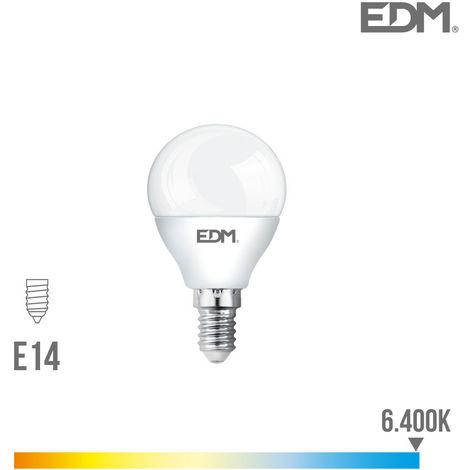 Bombilla Esferica Led 5W 400 Lumens E14 6.400K Luz Fria Lumeco - NEOFERR