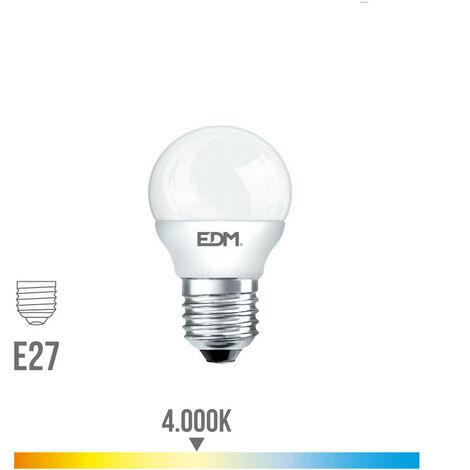 Bombilla Esferica Led 6W 500 Lumens E27 4.000K - NEOFERR