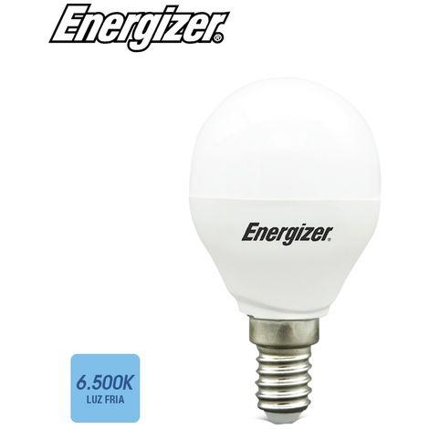 Bombilla esferica led E14 5.9w luz fria 6500k EDM 98975