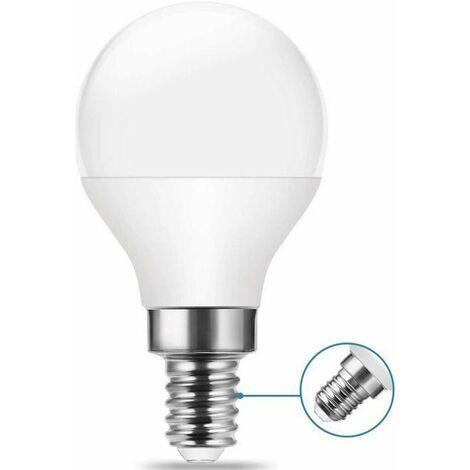 Bombilla Esférica LED E14 G45 4.2W Opal 323lm