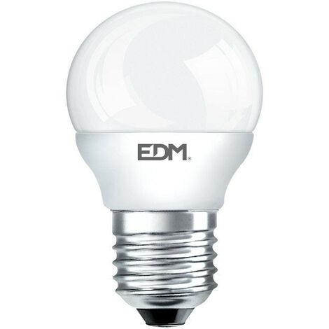 Bombilla Esferica Led Smd 5W 400 Lumens E27 4.000K Edm