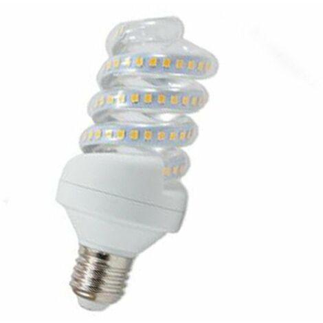 BOMBILLA ESPIRAL LED QS E27 BLANCO