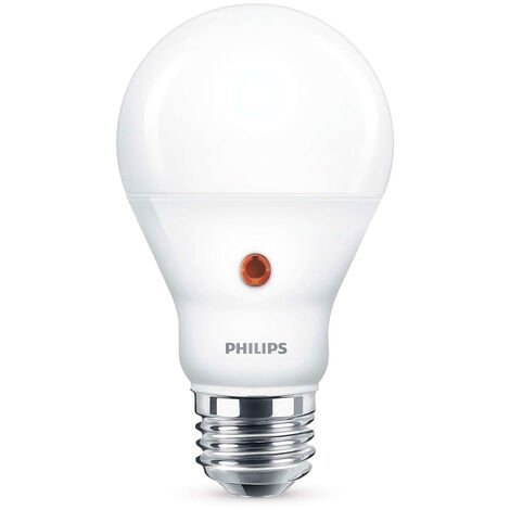 Bombilla estándar LED c/sensor E27 7,5W