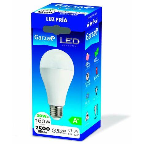 Bombilla estándar LED E27 20W 2500lm 240º Garza