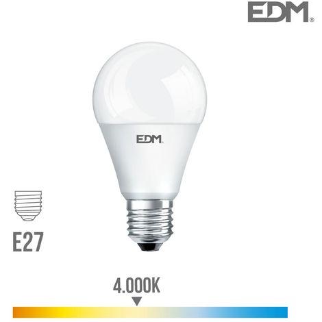 Bombilla Estandard led - SMD - e27 - 20W - 2100 Lm - 4000K - Luz Dia- EDM
