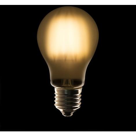 Bombilla Filamento A60 LED E27 4W 440Lm Opal 40.000H | Blanco Cálido (JK-A60-4WA-WW)