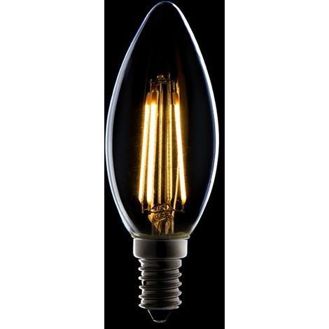 Bombilla Filamento LED Dimable E14 4W 380Lm 30.000H | Blanco Cálido (JTX-J14DHA42T-WW)