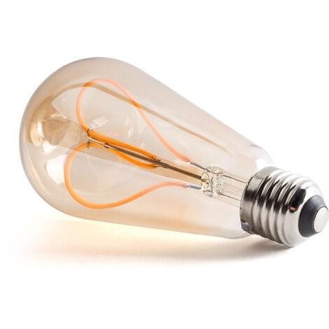 Bombilla Filamento LED E27 4W 380Lm 30,000H [WR-ST64-4W-R2] (WR-ST64-4W-R2)
