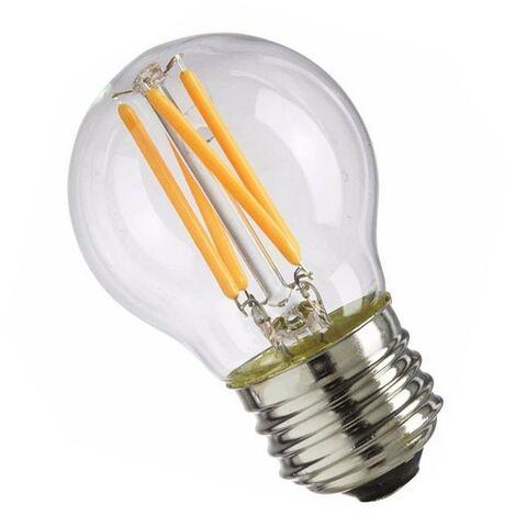 Bombilla filamento led esférica E27 4W