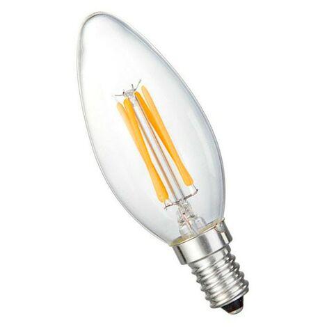 Bombilla filamento vela led E14 4W