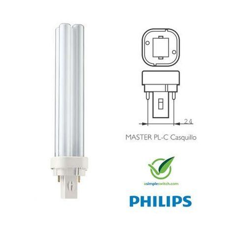 Bombilla Fluorescente Regulable PHILIPS G24d3 26W