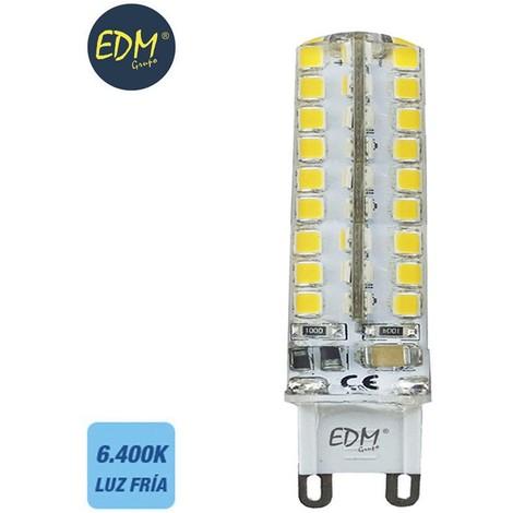 Bombilla G9 220-240V Led 4.5W 300 Lumens 6.400K Luz Fria Serie Silicona - NEOFERR