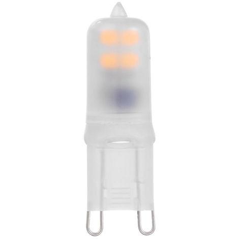 Bombilla G9 LED, 2W SMD2835, Reemplazar lampara halogena, blanco calido