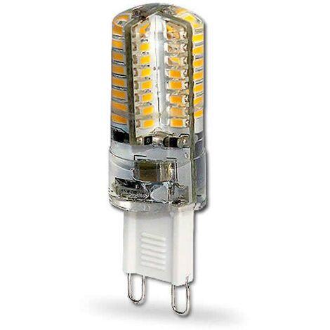 Bombilla G9, LG 64xSMD3014, 3W, 360º