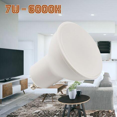 Bombilla GU10 7W blanco 6000K frio