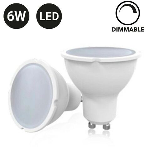 Bombilla GU10 LED 6W Dimmable