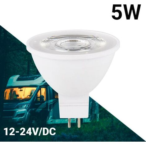 Bombilla GU5.3 LED MR16 10-30V 5W