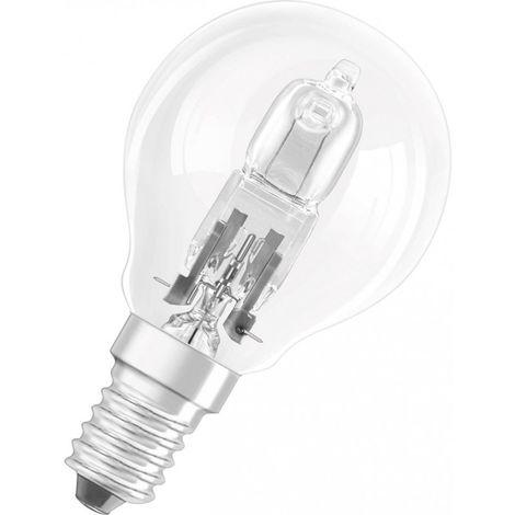 Bombilla halógena Energy Saver, E14Classic P,28W,Stand.,claro (por 20)