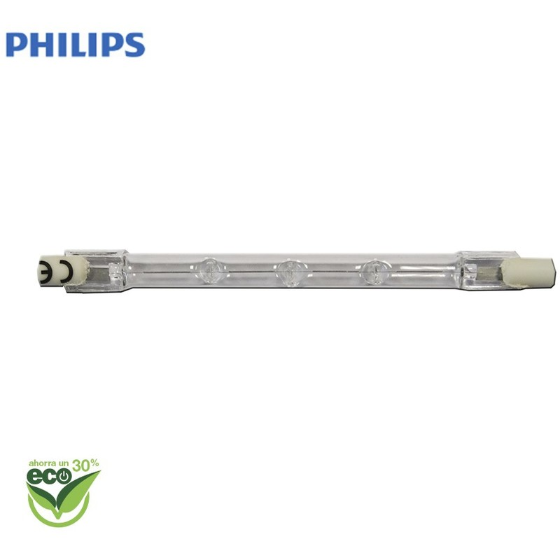 Bombilla Halogena Lineal 118Mm ''Energy Saver'' 120W 220/240V Equ. 150W Philips - NEOFERR..