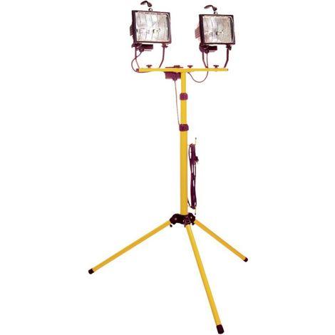 Bombilla halógena strahler 2x400 W IP 44, con trípode
