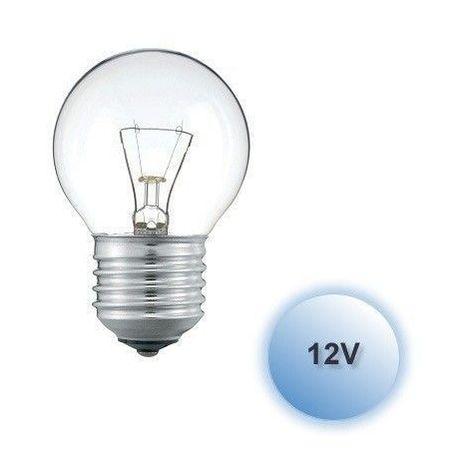 Bombilla incandescente 12V esférica 60W E27