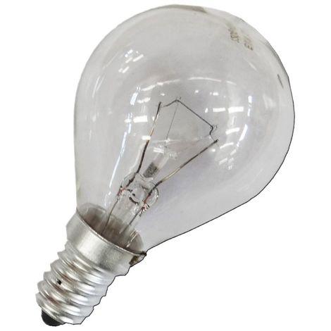 Bombilla incandescente esferica clara 25W E14 240V EDM 35125