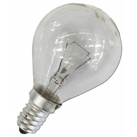 Bombilla incandescente esferica clara 40W E14 240V EDM 35126