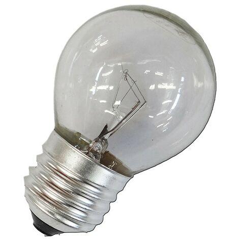 Bombilla incandescente esferica clara 60W E27 240V EDM 35123