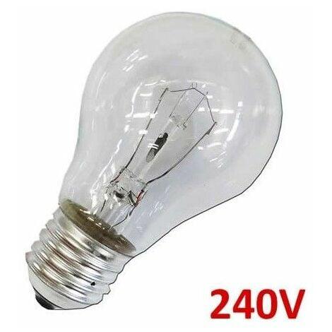 Bombilla incandescente standard clara 60W E27 240V EDM 35102