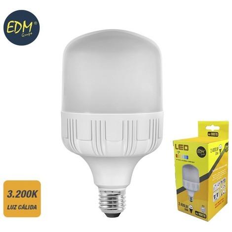 Bombilla Industrial Led 30W 2400 Lumens E27 3.200K Luz Calida Edm