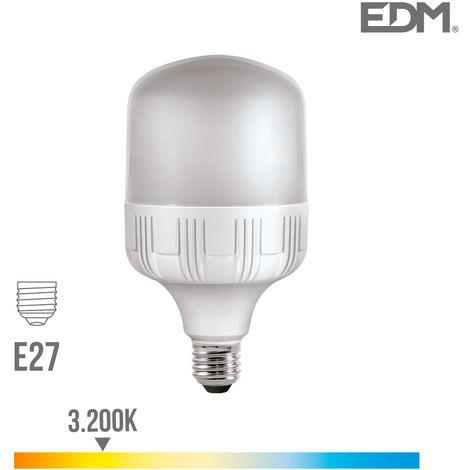 BOMBILLA INDUSTRIAL LED 40W 3200 LUMENS E27 3.200K LUZ CALIDA EDM