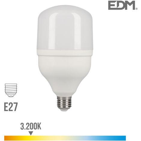 Bombilla industrial LED E27 30w 2400 lm 3200k luz calida EDM 98832
