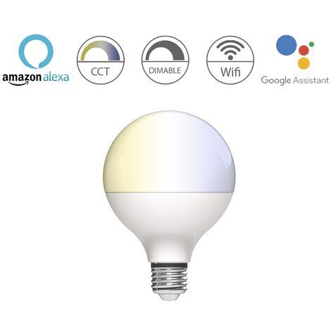 Bombilla inteligente Globo E27 10W 1055Lm Wifi