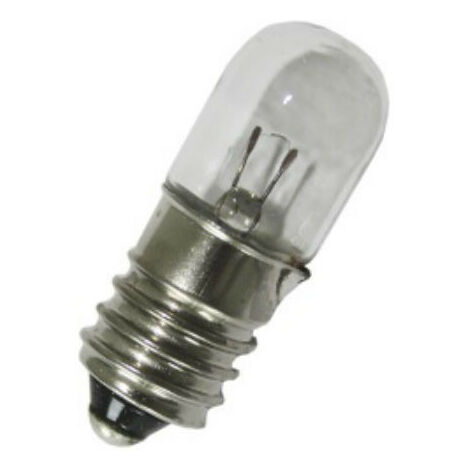 Bombilla Italweber socket E10 tamaño de 10x28 220V 3W 0910821