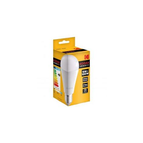 Bombilla Kodak Led Globo A60 E27 1450lm Calido 15w/100w No Regulable