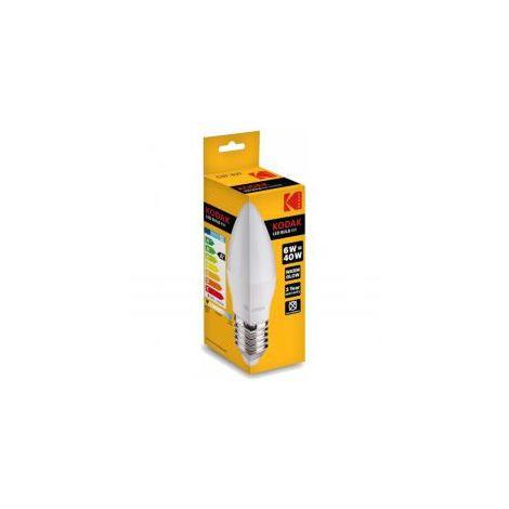 Bombilla Kodak Led Vela C37 E27 480lm Dia 6w/40w No Regulable