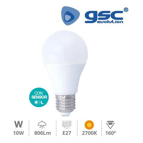 Lámpara estándar crepuscular 10W E27 3000K