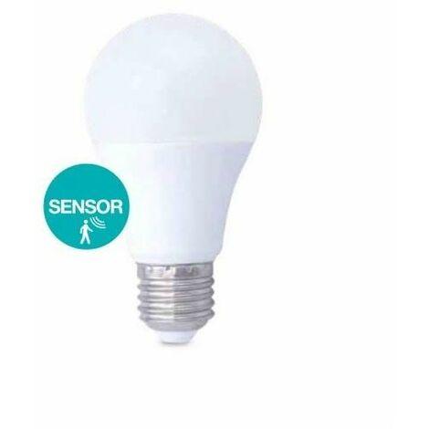 Bombilla LED 10W con sensor de presencia E27 3000K