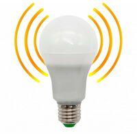Bombilla LED 10W E27 con Sensor de movimiento + crepuscular