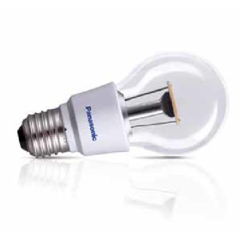 BOMBILLA LED 10W ESFERICA CLARA E27 PANASONIC Color de Iluminación Cálido (2700k)