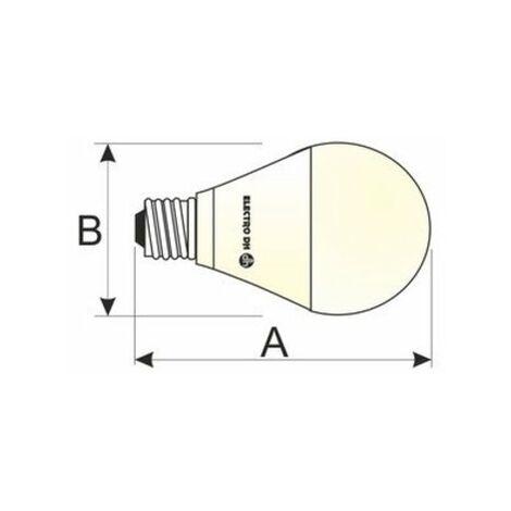 Bombilla LED 18W E-27 Globo G-120