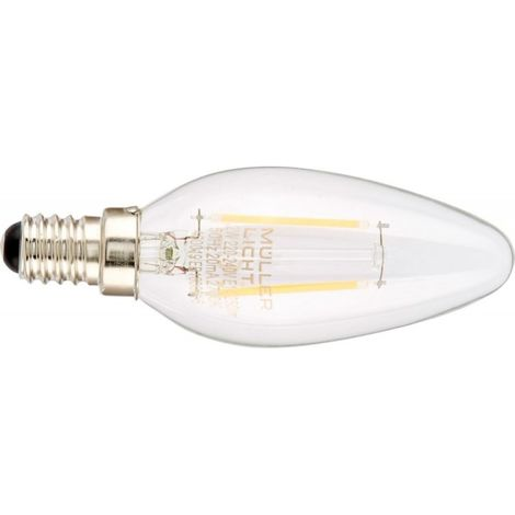 Bombilla LED 2,2W E14 claro (por 4)