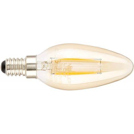 Bombilla LED 2,2W E14 gold (por 7)