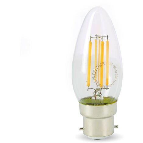 Bombilla Led 4W (40W) B22 Filament Flame Warm white 2700 ° K