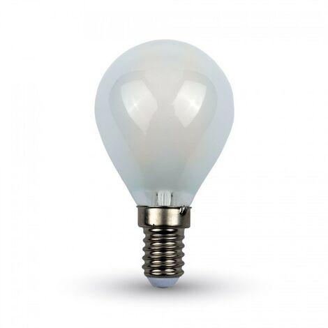 Bombilla LED 4W E14 filamento Frost P45