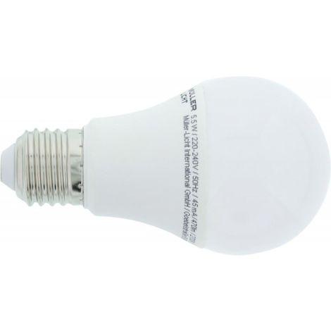 Bombilla LED 5,5W E27 470lm (por 4)